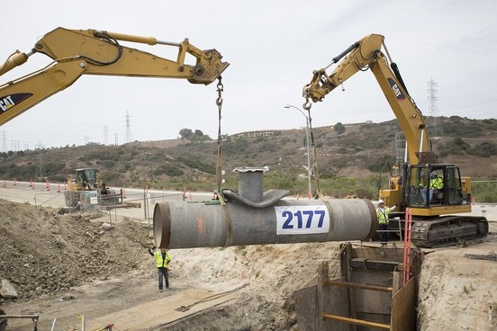 The Carlsbad Desal Plant - pipeline project completion!