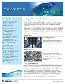 Carlsbad Desal Plant - Poseidon Water Overview